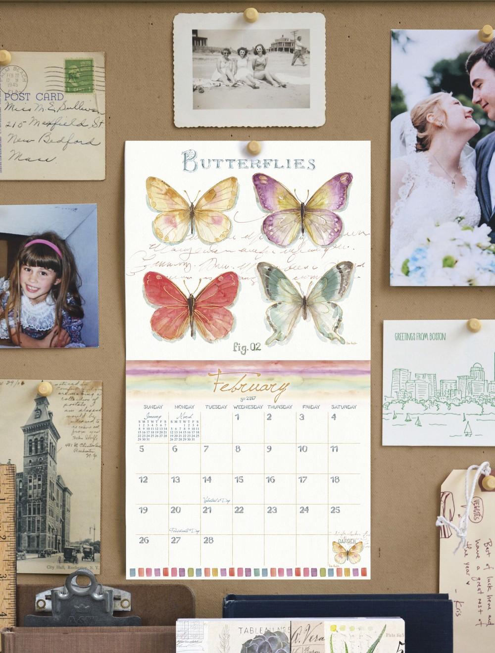 Sneak peak of Lisa Audit's 2017 Calendar