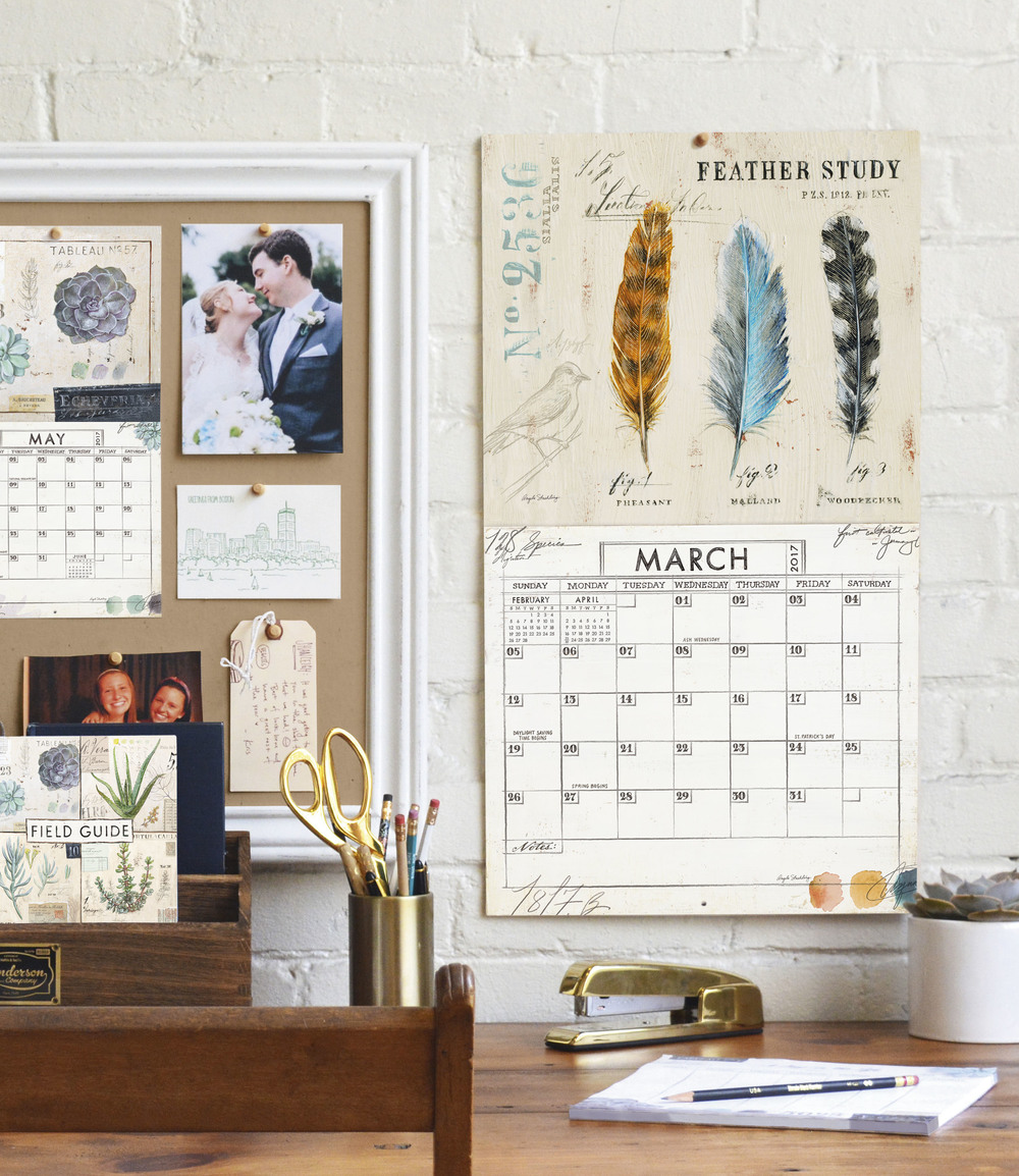 Legacy's Mini Wall Calendar and Wall Calendar