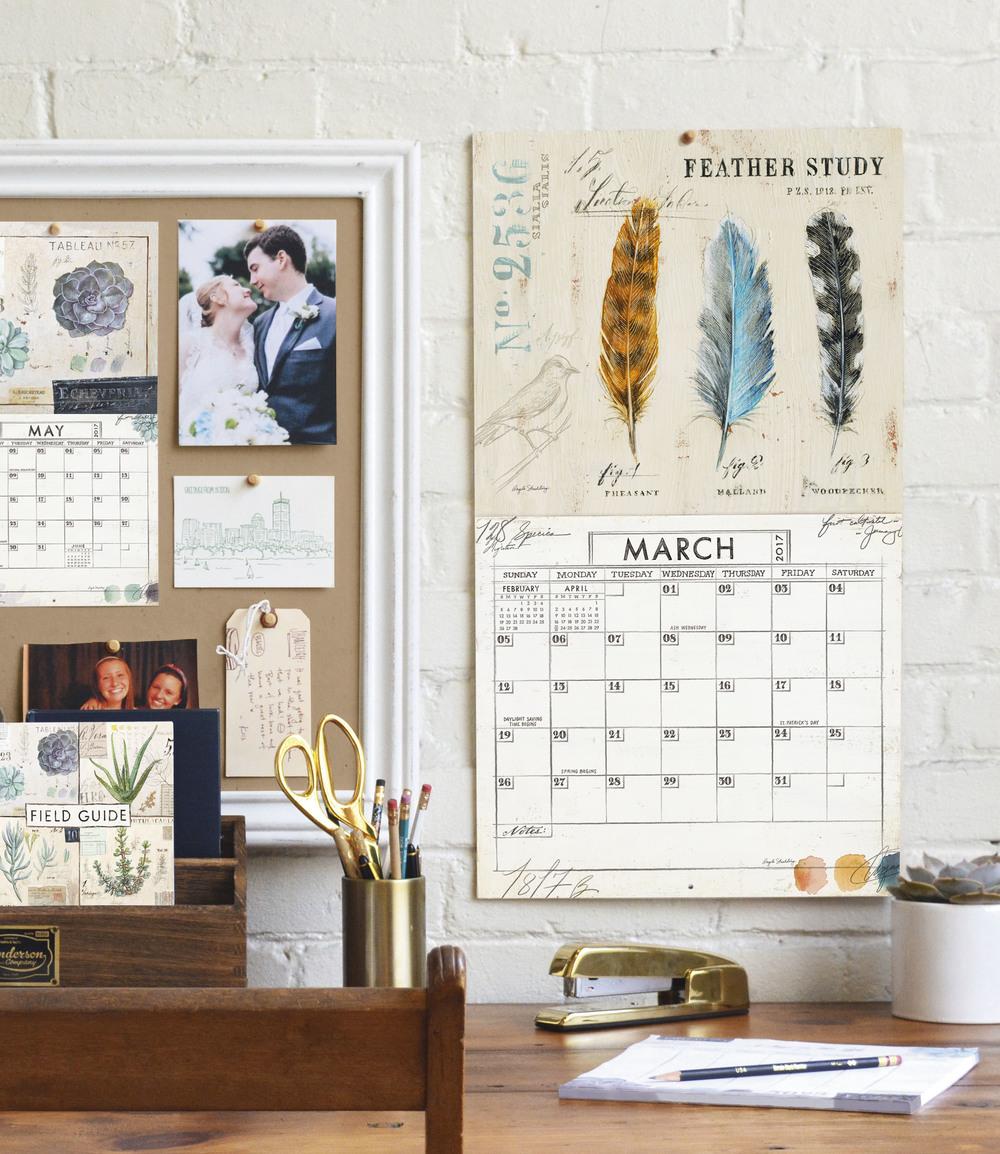 Legacy's Mini Wall Calendar and Wall Calendar
