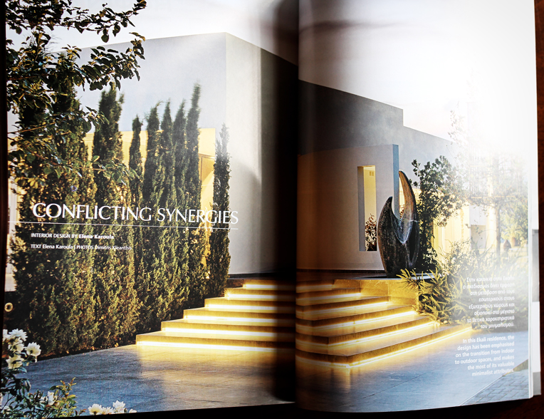 Private House in Ekali in  Villas, views&ideas , 2014 annual issue