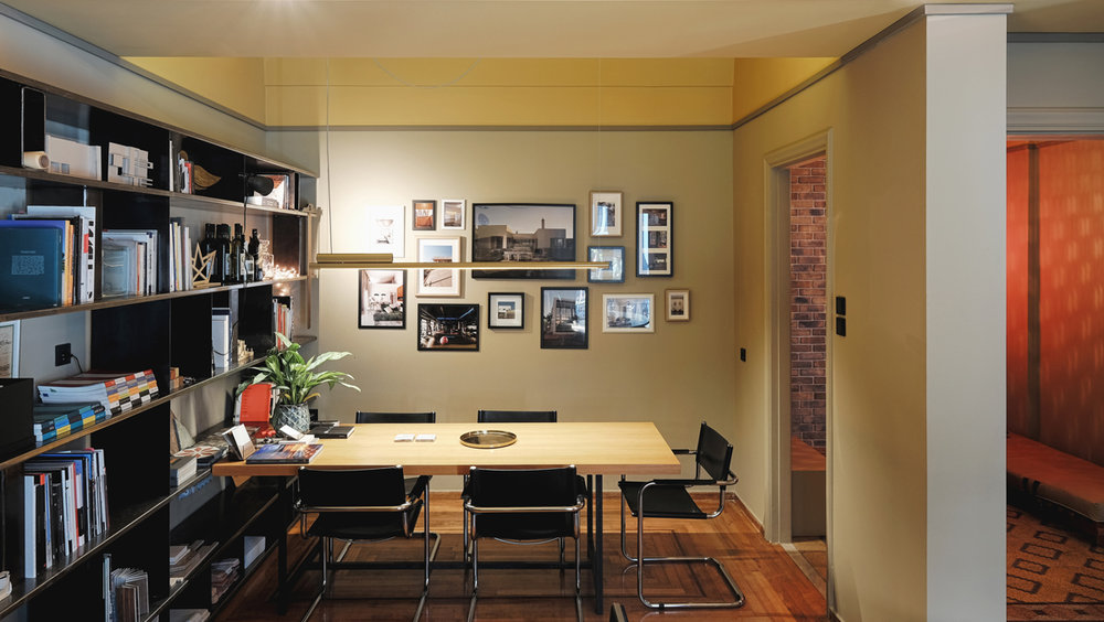 Architectural office in Exarcheia