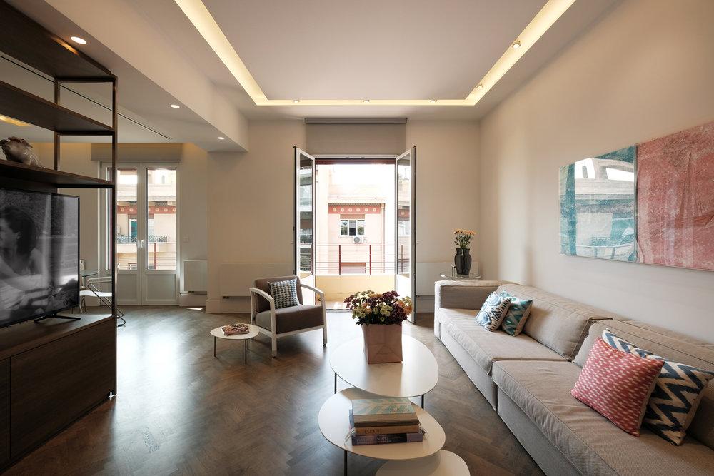 Apartment renovation in Kolonaki by   Elena Karoula