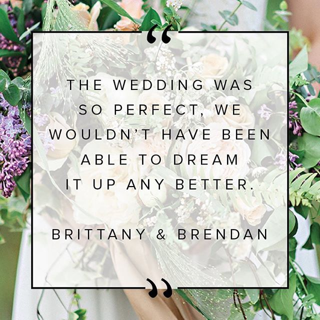"""We can't even find the words to thank you and your team enough. The wedding was so perfect, we wouldn't have been able to dream it up any better. You and Emily were amazing to work with."" - Brittany & Brendan⠀ #testimonaltuesdays⠀ .⠀ .⠀ .⠀ .⠀ #Eastcoastwedding #weddinginspo #novascotiawedding #elegantproductionshfx #girlboss #testimonal #instaweddings #weddingflowers #realwedding #bridesmag #weddingplanner #gettingmarried #bestclients #thehappynow #marthaweddings #myheartsaflutter #heybride #pursuepretty #soloverly #junebugweddings #loveintentionally #greenweddingshoes #loveauthentic #theknot #fineartwedding #ohwowyes #adornyourlove #joywed #weddingmoments"