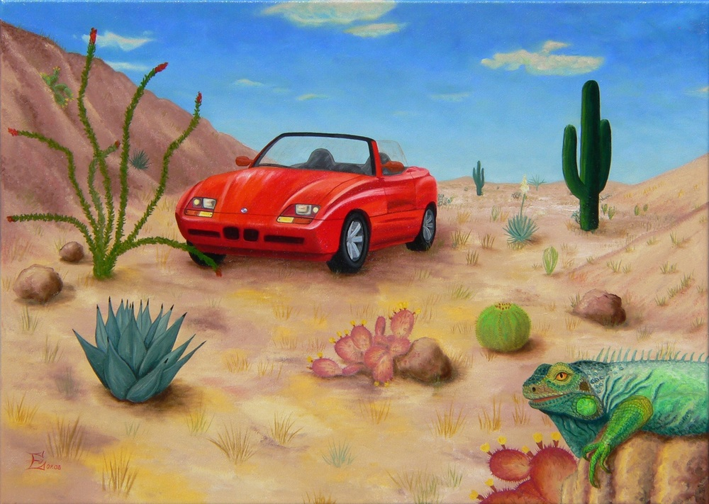 Z1 in der Wüste, 07/2008