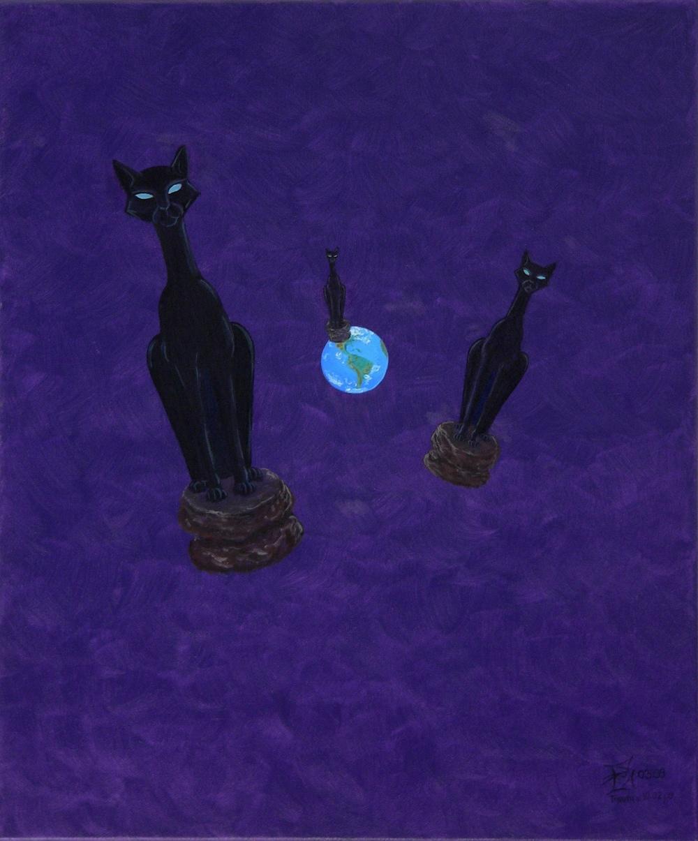 Traum mit Ägyptische Katzen, 03/2009