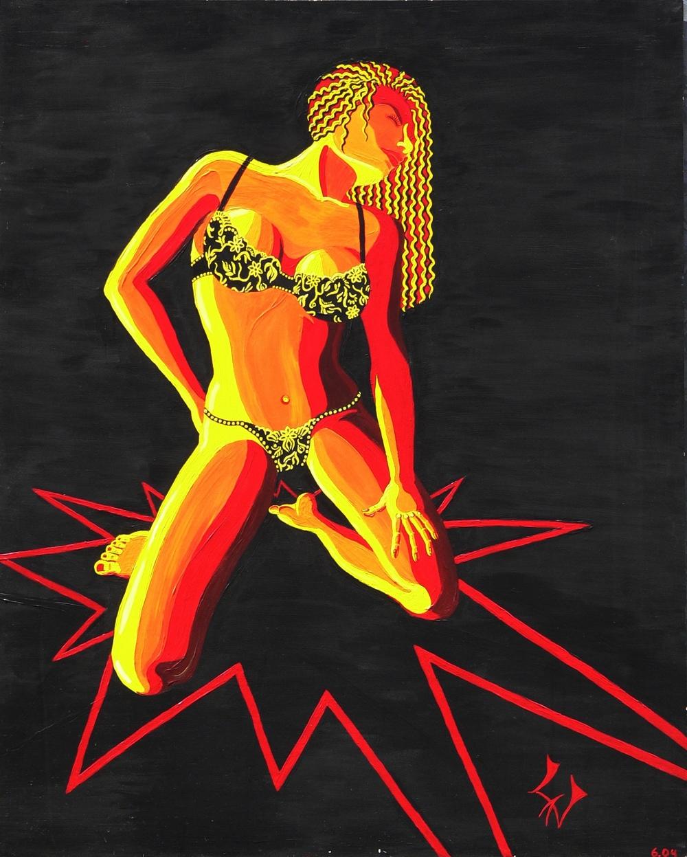 Rote Frau, 06/2004