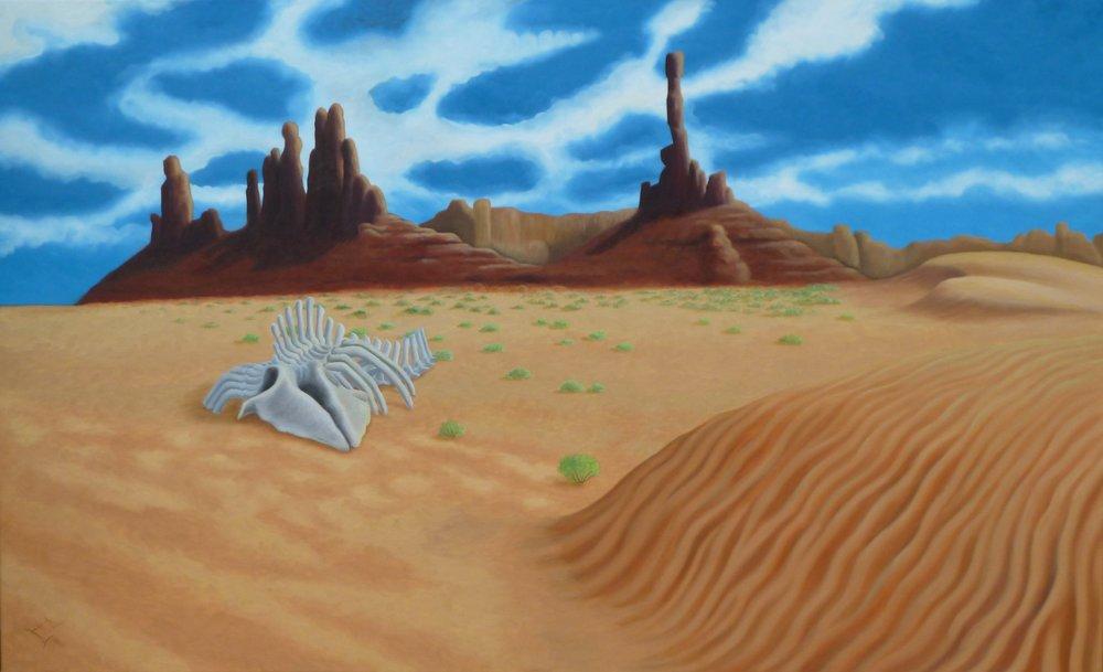 Wüste mit Wal, 09/2016