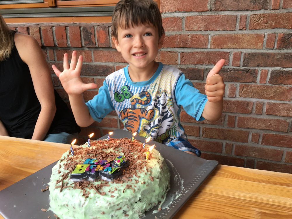 Andrew recently had a Birthday!  We now have a 5, 6, and 7 year old.