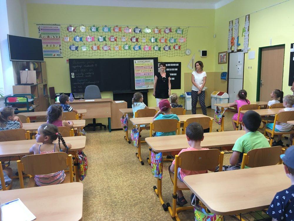 Adelyn's new classroom