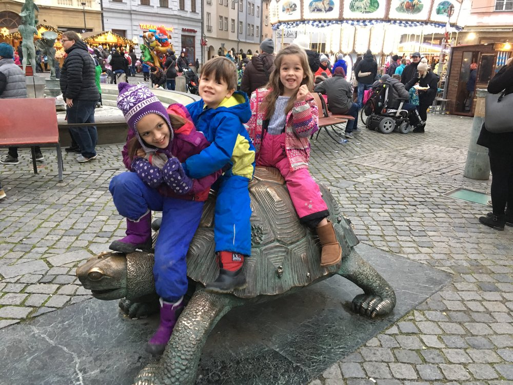 The Turtle is always a crowd pleaser for the kids.