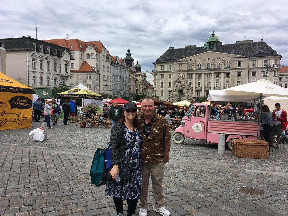 Dan's mom and step dad had their first taste of Europe in June.  It was sweet having them here, and we all really enjoyed our time with them.