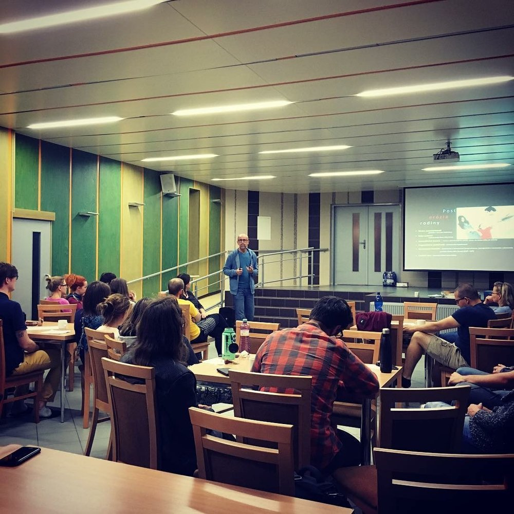 We had our Metro Relax weekend, with a guest speaker from Slovakia to talk about the Bible and family.