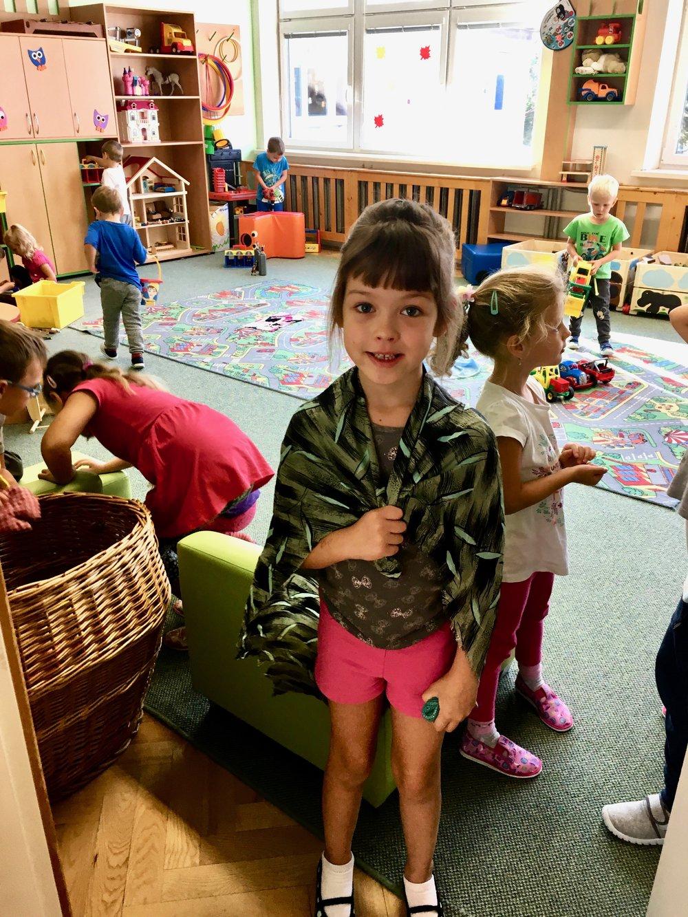 Nora's kindergarden class