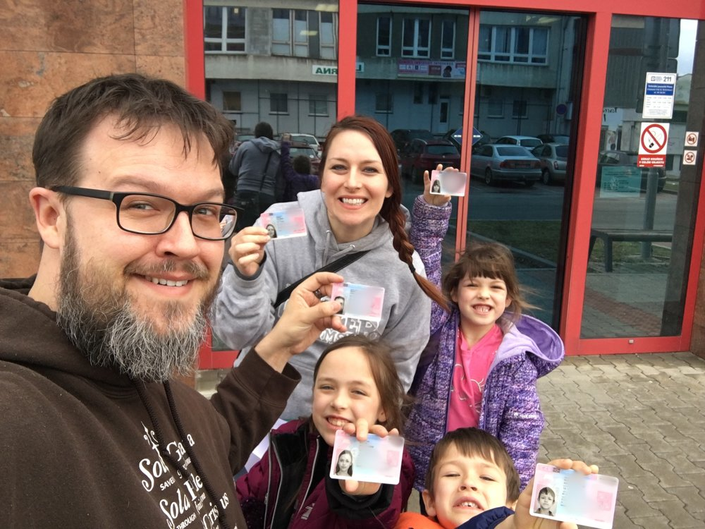 Our 2 year residence permits are here! Each application process is a big test, but it is always nice to walk out of immigration with our cards in hand.