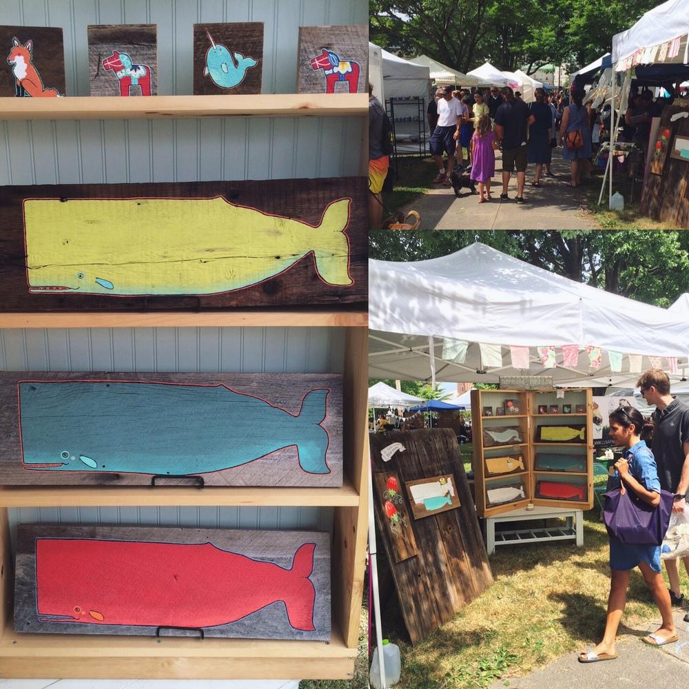 Picnic Music + Arts Festival in Lincoln Park, Portland, Maine 8/6/2016. www.picnicportland.com