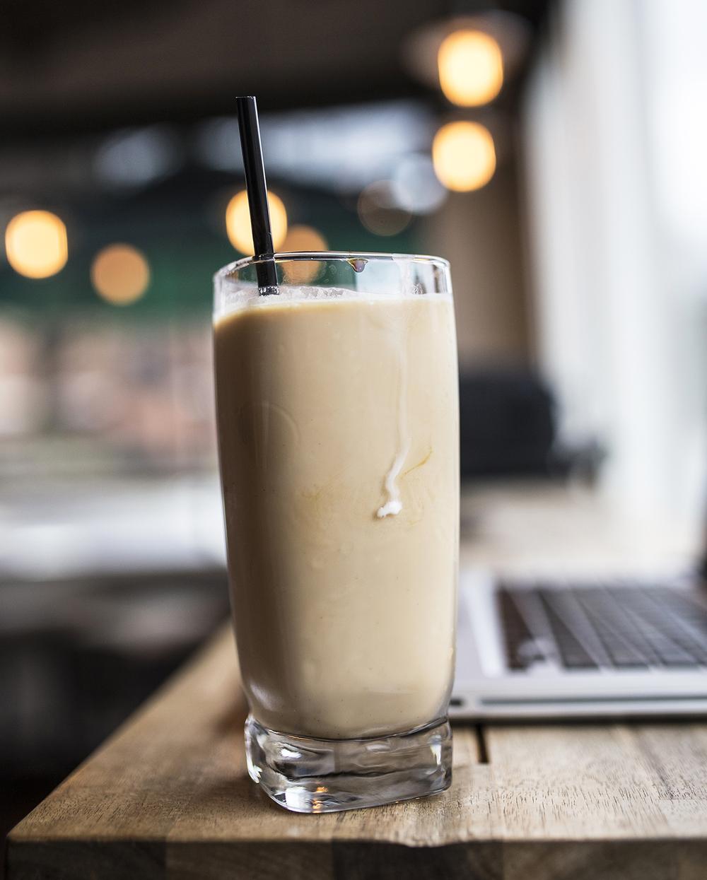 K Brew, Iced Vanilla Latte Product Highlight