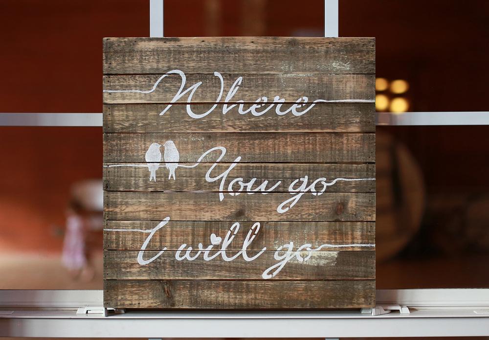 Drew-Laurie Wedding Decor Detail