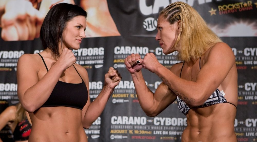 THROWBACK: Cyborg vs Gina Carano in Strikeforce — Untitled MMA
