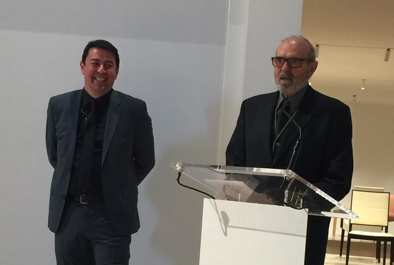 Jesus   Llinares  (CEO,  Andreu  World), Francisco   Andreu  Marti (Founder,  Andreu  World)