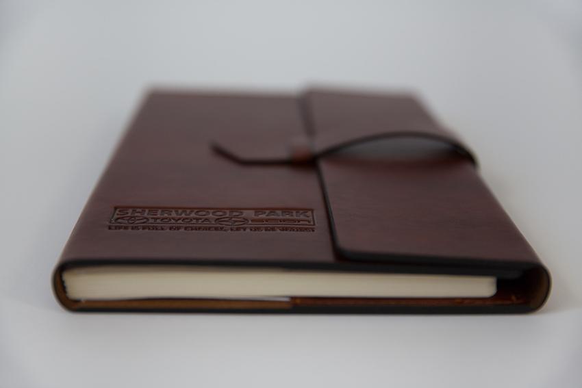 Debossed Refillable Notebook