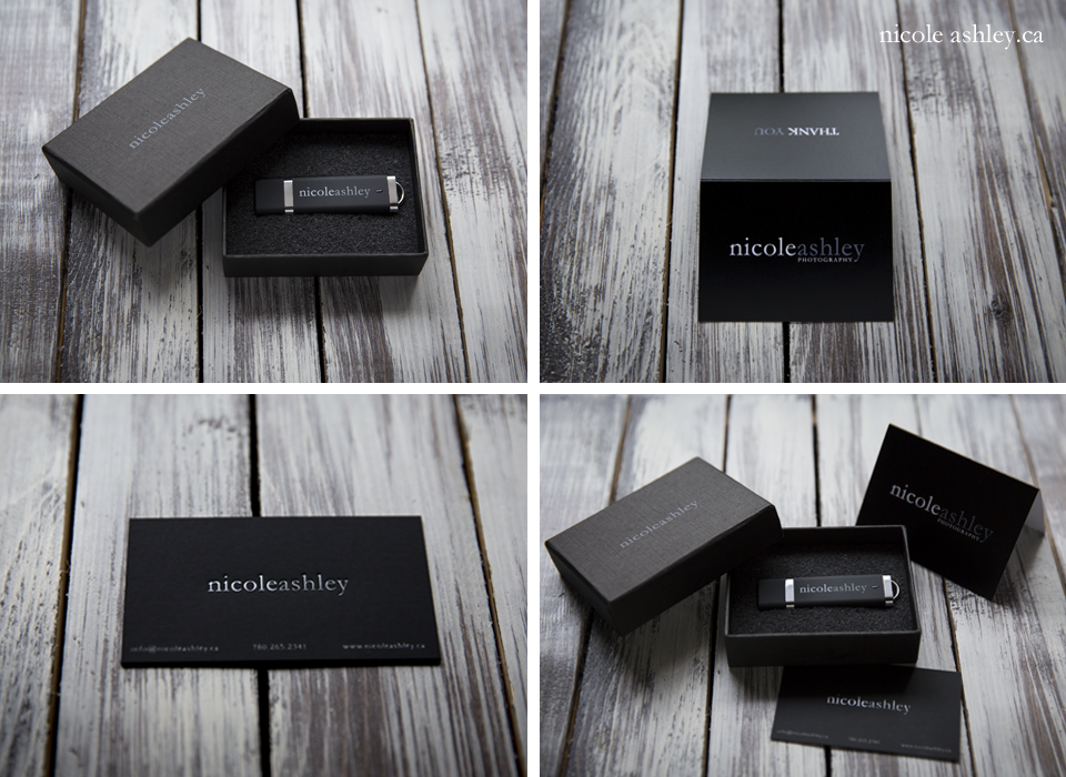 USB, Box, Business Cards, and Thank You Cards