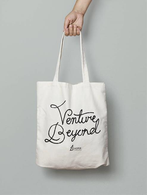Cotton Tote Bag with 1 Color Screen Print