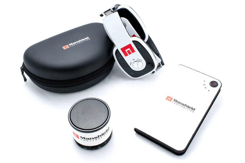 Manshield Bluetooth Headphones, Bluetooth Speaker and Portable Charger