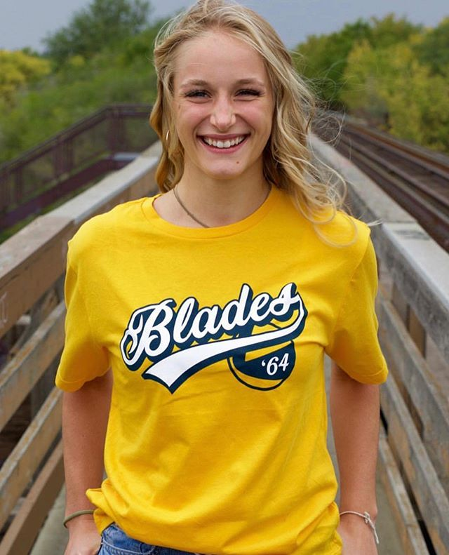 Official Merchandise for the Saskatoon Blades! Here at Pinnacle we work closely with the Blades franchise to both design and develop a collection that speaks to their loyal fans. Available through the @saskbladesstore !