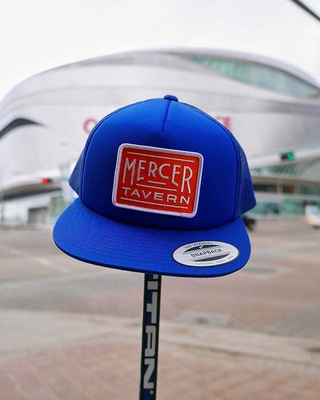 Good luck to the boys tonight! We had a blast making these lids for our pals over at @mercertavern. They sold out super quick....we're thinking they need to make a comeback? Pop in for a beer before or after the game and bug 'em to do another run!