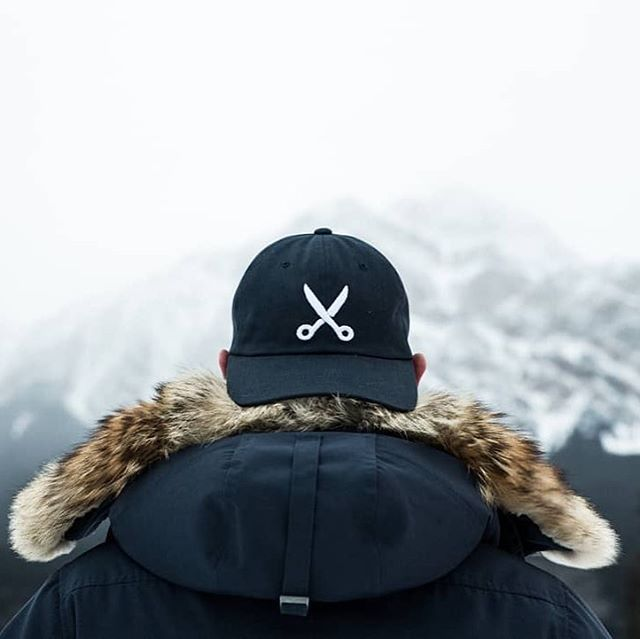 """TGIF! Whether you're adventuring out to the mountains this weekend, or braving a brunch line, do it in style. The """"dad hats"""" we whipped up for our buds @weeklyyeg are a staple in our weekend wardrobe. 📸 @cody.kristian."""