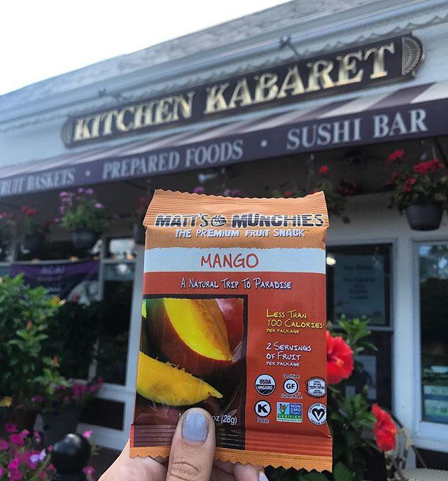 Spotted! #MattsMunchies at Kitchen Kabaret!