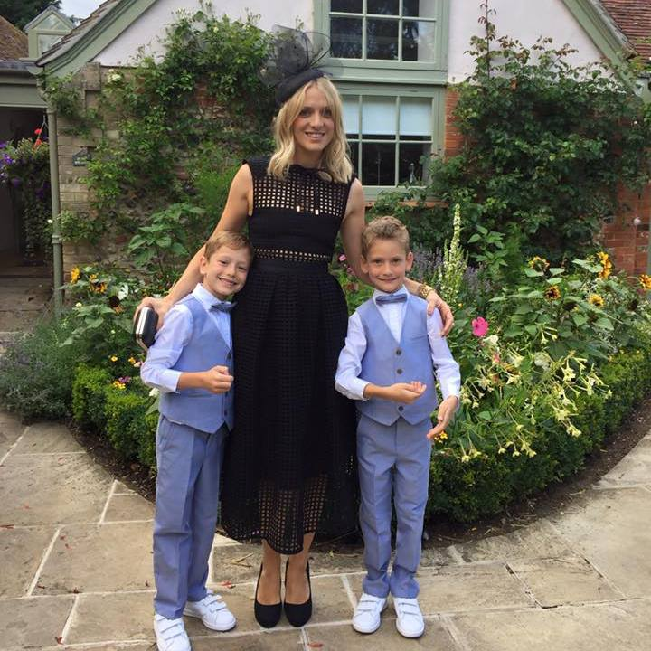Pascale with her gorgeous twin boys Alfie and Aidan (8)