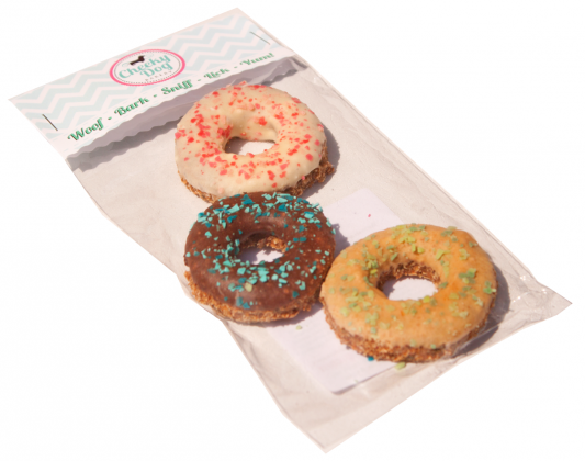 Cheeky Dog Bakery - Puppermint Donuts