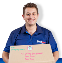 Cheeky Dog Bakery ships with Fastway Courier