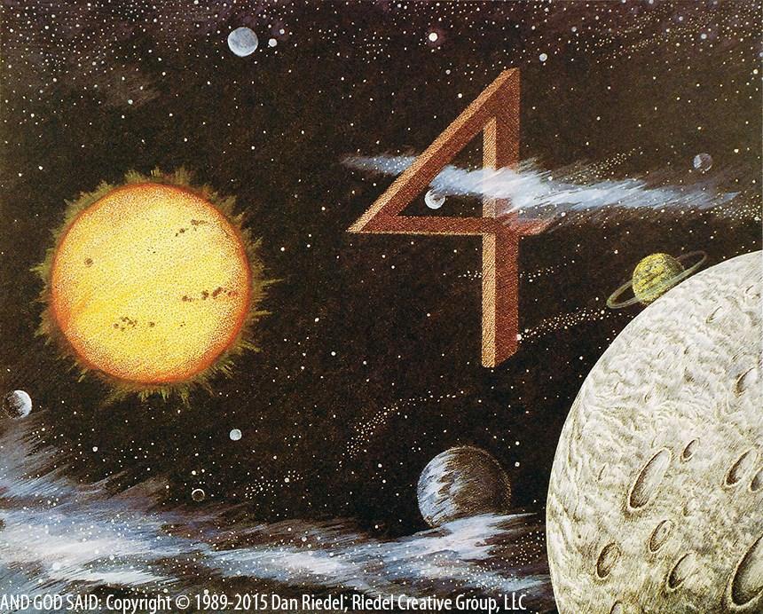 DAY 4 - Genesis 1:18-19