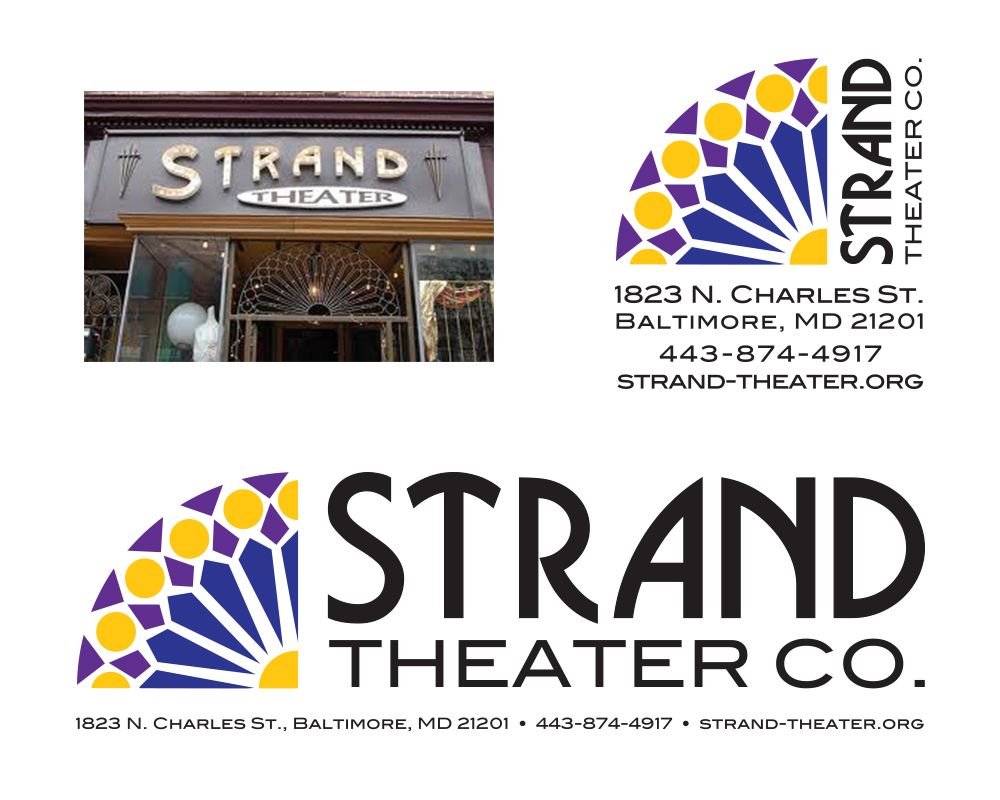 Strand Theater Logo Redesign
