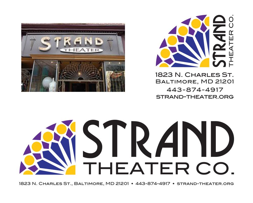 Strand Theater Logo Redesign