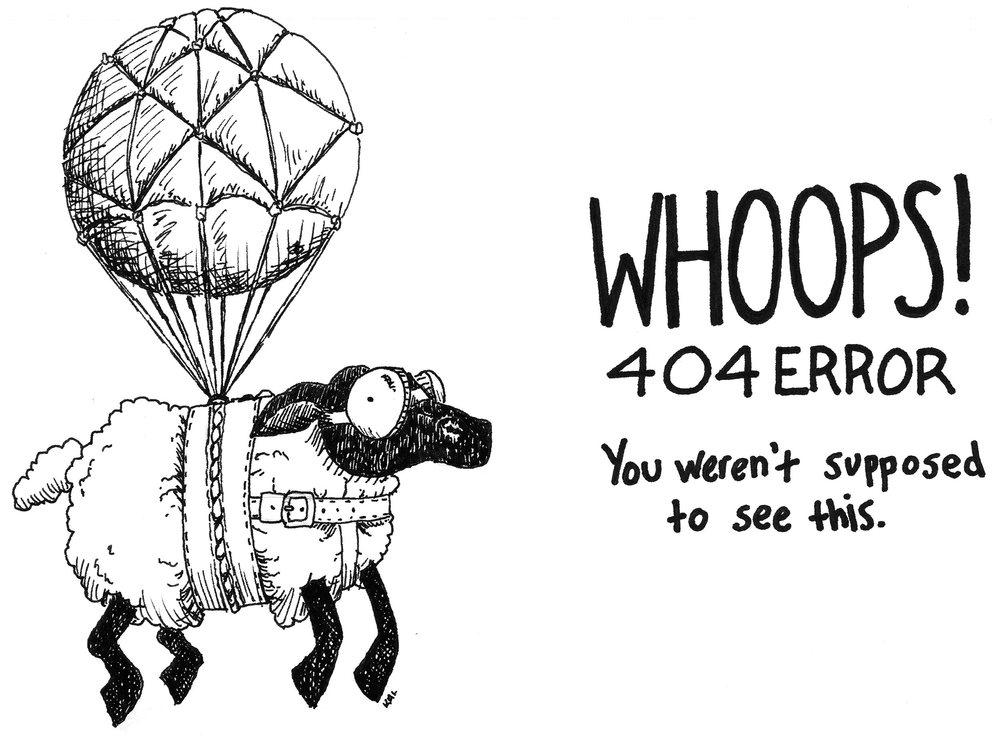 404 Flying Sheep