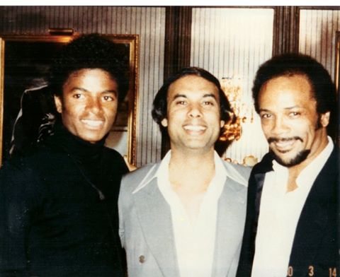 Michael Jackson, Bikram Choudhury, Quincy Jones