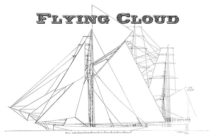 Flying Cloud (Apple Tobacco)