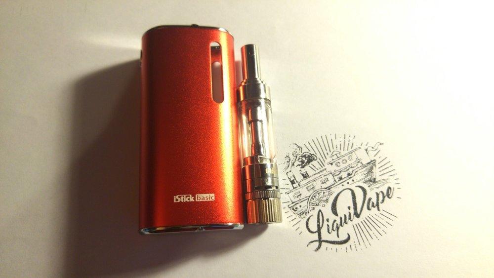 iStick Basic + LiquiVape E Juice