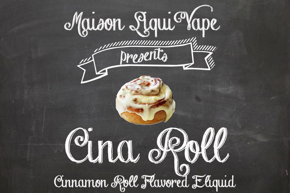 CinaRoll (Cinnamon Roll E Liquid)