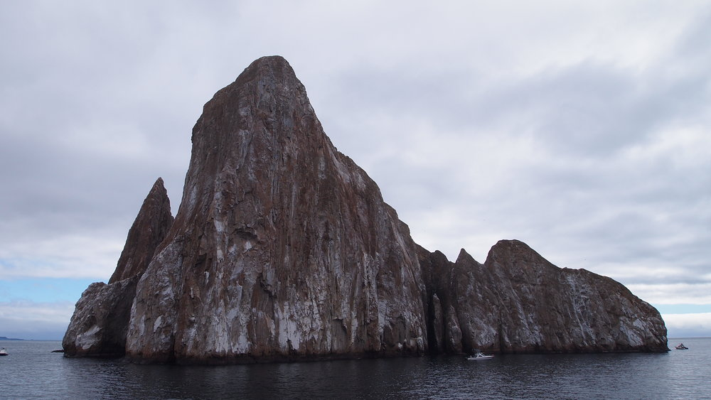 Everything lies beneath ( Kicker Rock, The Galapagos Islands )
