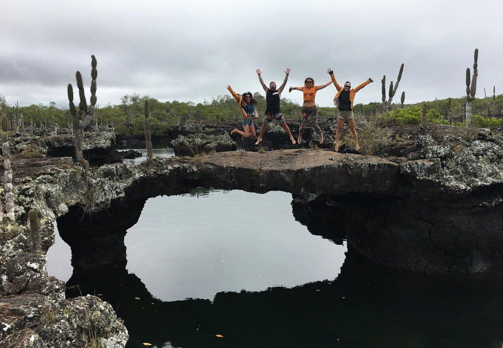 Los Tuneles  (Isabella Island, The Galapagos)