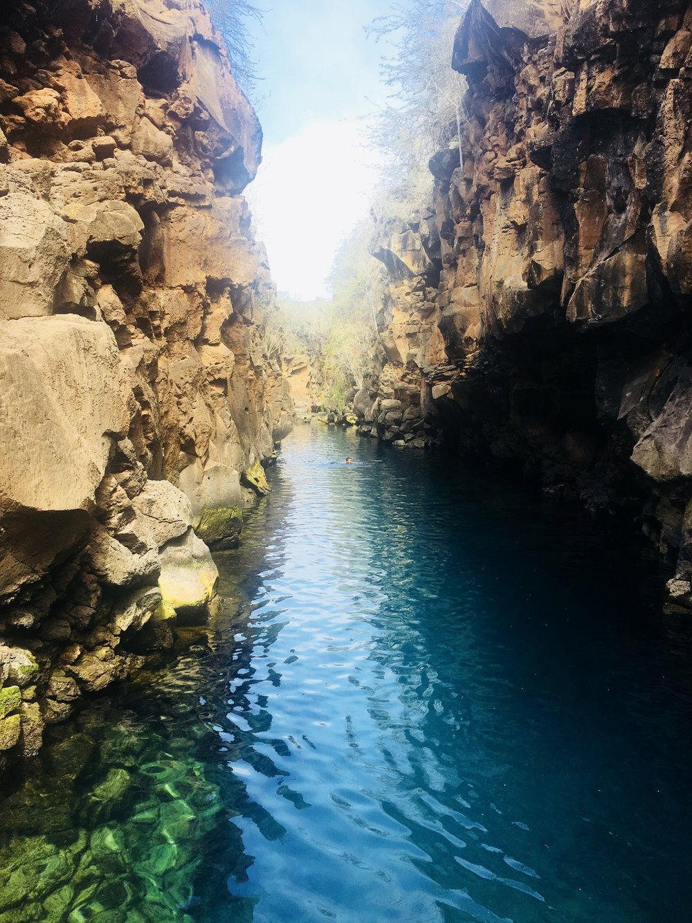 The story book waters of Las Grietas