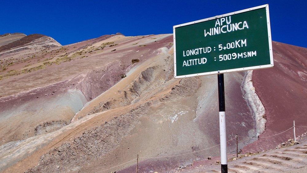 En route to Apu Winicunca ( Colourful Mountain, La Montana de colores,Peru )