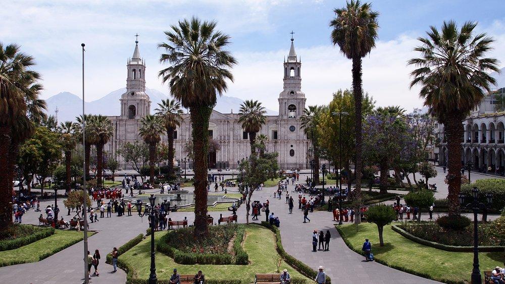 Plaza de Armas ( Arequipa, Peru )