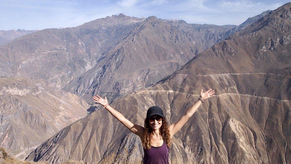 Made it! ( Colca Canyon, Peru )