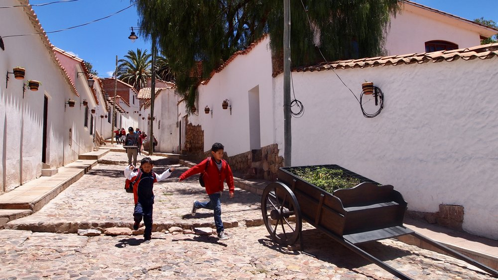 Calle Polanco ( Sucre, Bolivia )