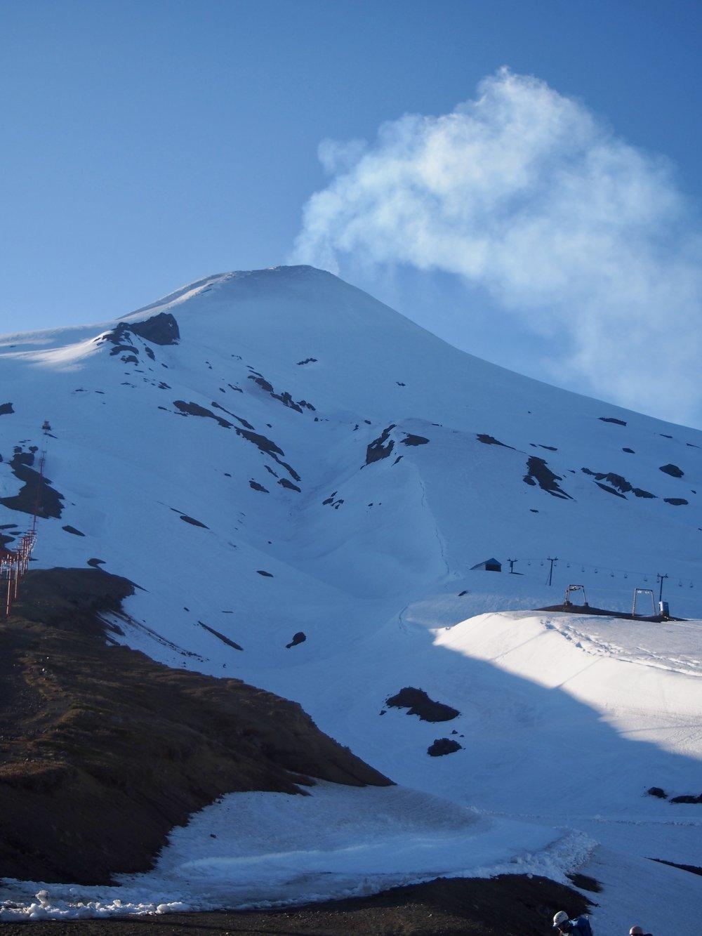 Villarica Volcano aka Rucapillan, a Mapuche word meaning 'Devils House'.( Villarica, Chile )